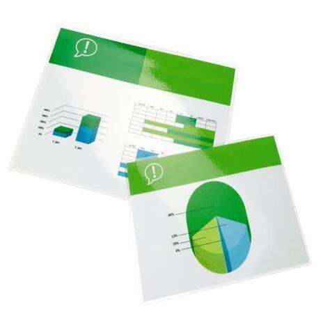 GBC Pouch per plastificazione documenti A2 2x125mic lucide (100) - 2