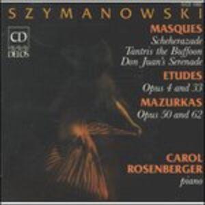 CD Masques op.34 n.1, n.2, n.3 di Karol Szymanowski