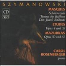 Masques op.34 n.1, n.2, n.3 - CD Audio di Karol Szymanowski