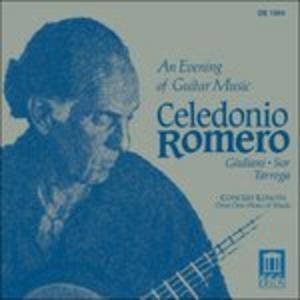 CD An Evening of Guitar Music - Variazioni su Un Tema di Handel Op.107 di Mauro Giuliani