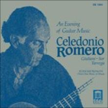 An Evening of Guitar Music - Variazioni su Un Tema di Handel Op.107 - CD Audio di Mauro Giuliani,Celedonio Romero