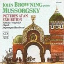 Quadri di un'esposizione (Pictures at an Exhibition) - CD Audio di Modest Petrovich Mussorgsky,John Browning