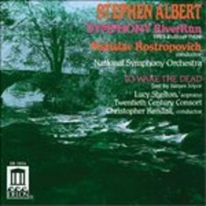 CD Sinfonia Riverrun, to Wake the Dead di Stephen Albert