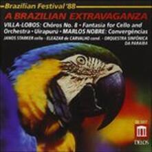 A Brazillian Extravaganza - CD Audio di Heitor Villa-Lobos