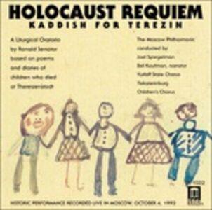 Foto Cover di Holocaust Requiem - Kaddish for Terezin, CD di Ronald Senator, prodotto da Delos