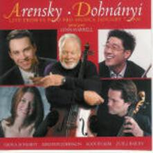 Serenata / Quartetto per archi n.2 - CD Audio di Anton Stepanovich Arensky,Erno Dohnanyi