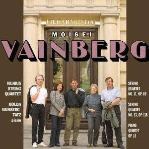 Musica da camera - CD Audio di Mieczyslaw Vainberg,Vilnius String Quartet