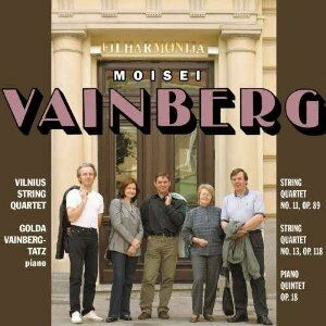 CD Musica da camera di Mieczyslaw Vainberg