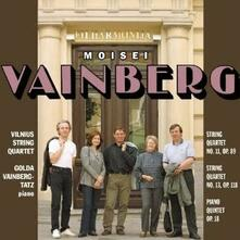 Musica da camera - CD Audio di Mieczyslaw Vainberg,Vilnius String Quartet