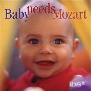 Foto Cover di Baby needs Mozart, CD di Wolfgang Amadeus Mozart, prodotto da Delos