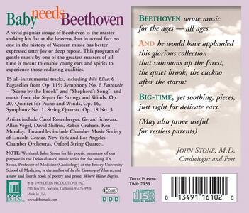 Baby Needs Beethoven - CD Audio di Ludwig van Beethoven - 2
