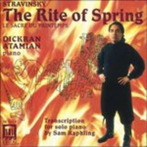 CD La Sagra Della Primavera di Igor Stravinsky