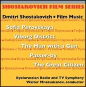 Film Music (Colonna Sonora) - CD Audio di Dmitri Shostakovich