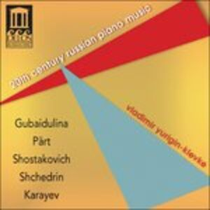 CD Musica per Pianoforte Russa Del Xx Secolo