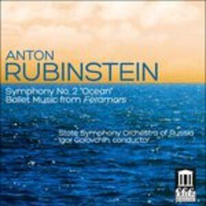 CD Sinfonia n.2 'oceano' - Feramors di Anton Rubinstein