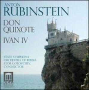 Foto Cover di Don Quixote - Ivan iv, CD di Igor Golovchin,Anton Rubinstein, prodotto da Delos