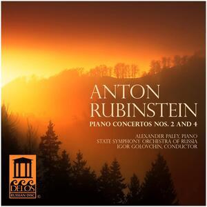 Piano Concertos Nos. 2 & 4 - CD Audio di Anton Rubinstein