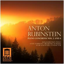 Piano Concertos Nos. 2 & 4 - CD Audio di Anton Rubinstein