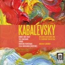 Romeo e Giulietta - CD Audio di Dmitri Borissovic Kabalevsky