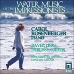Foto Cover di Water Music Of The.., CD di  prodotto da Delos