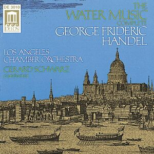 Foto Cover di Water Music, CD di Georg Friedrich Händel, prodotto da Delos