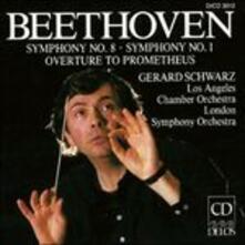 Sinfonie n.1, n.8 - CD Audio di Ludwig van Beethoven