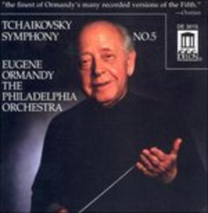 CD Sinfonia n.5 Op.64 di Pyotr Il'yich Tchaikovsky