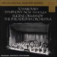 Sinfonia n.6 - CD Audio di Pyotr Ilyich Tchaikovsky,Eugene Ormandy,Philadelphia Orchestra