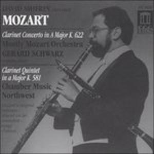 CD Concerto per Clarinetto K 622, Quintetto per Clarinetto K 581 di Wolfgang Amadeus Mozart