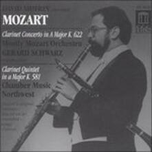 Concerto per Clarinetto K 622, Quintetto per Clarinetto K 581 - CD Audio di Wolfgang Amadeus Mozart,David Shifrin