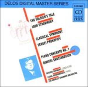 The Soldier's Tale Suite - CD Audio di Igor Stravinsky,Gerard Schwarz