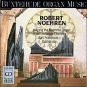 Foto Cover di Preludi e fughe 137, 145, 146, 149, 153, 174, 178, 196, 223, CD di Dietrich Buxtehude,Robert Noehren, prodotto da Delos