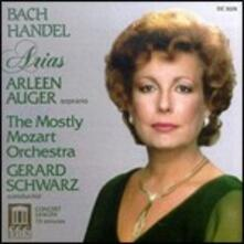 Arie - CD Audio di Johann Sebastian Bach,Georg Friedrich Händel,Arleen Auger