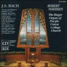 Musica per organo - CD Audio di Johann Sebastian Bach,Robert Noehren