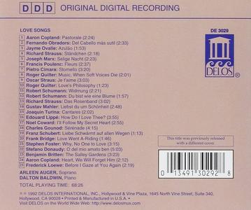 CD Love Songs  0