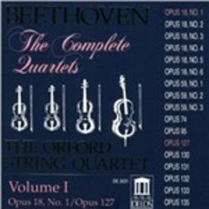 Quartetti per archi vol.1 - CD Audio di Ludwig van Beethoven