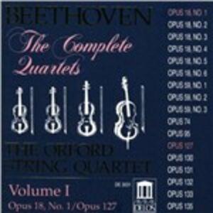 CD Quartetti per archi vol.1 di Ludwig van Beethoven
