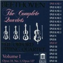 Quartetti per archi vol.1 - CD Audio di Ludwig van Beethoven