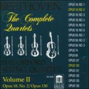 CD Quartetti per archi vol.2 di Ludwig van Beethoven
