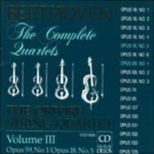 Quartetti per archi vol.3 - CD Audio di Ludwig van Beethoven