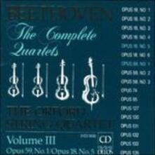 Quartetti per archi vol.3 - CD Audio di Ludwig van Beethoven