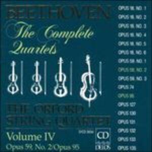 CD Quartetti per archi vol.4 di Ludwig van Beethoven
