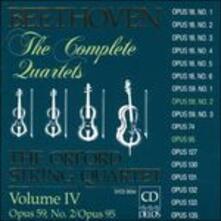 Quartetti per archi vol.4 - CD Audio di Ludwig van Beethoven