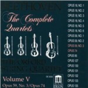 Quartetti per archi n.9, n.10 - CD Audio di Ludwig van Beethoven,Orford String Quartet