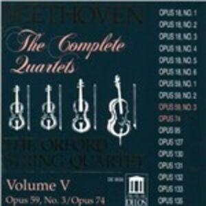 CD Quartetti per archi n.9, n.10 di Ludwig van Beethoven