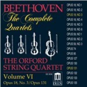 CD Quartetti per archi n.3, n.14 di Ludwig van Beethoven