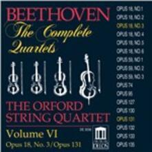 Quartetti per archi n.3, n.14 - CD Audio di Ludwig van Beethoven,Orford String Quartet