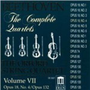 CD Quartetti per archi n.4, n.15 di Ludwig van Beethoven