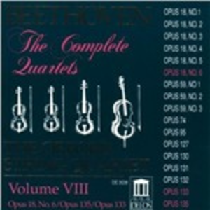CD Quartetti per archi n.6, n.16 - Grande Fuga op.133 di Ludwig van Beethoven