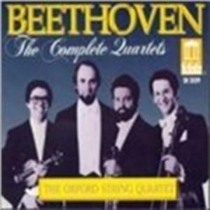 CD Quartetti per archi nn.1-16 di Ludwig van Beethoven